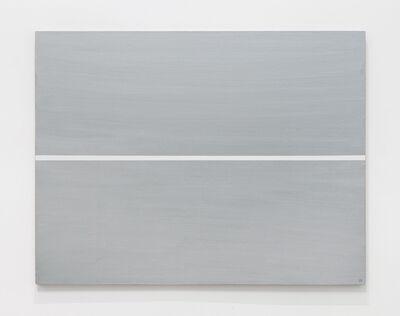 Josip Vanista, 'White Line on a Silver Surface', 1968-1997