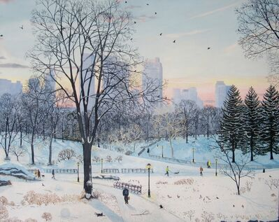 Emma Haworth, 'Winter Landscape - Central Park', 2016