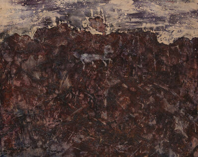 Jean Dubuffet, 'Paysage au chien bleu', November 1952