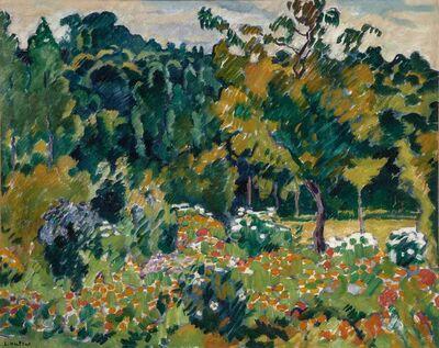 Louis Valtat, 'Le Jardin de l'Artiste a Choisel', circa 1918