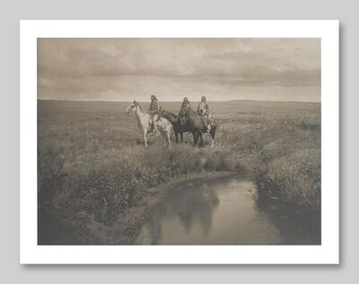 Edward Sheriff Curtis, 'Three Chiefs', 1999