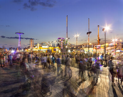 Matthew Pillsbury, 'Coney Island Boardwalk', 2015/2018