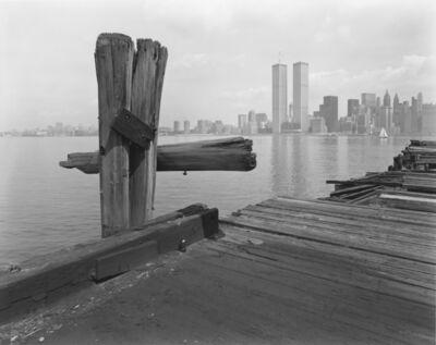 George Tice, 'Hudson River Pier, Jersey City, NJ', 1979