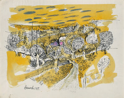 Avinash Chandra, 'Untitled (English landscape)', 1959