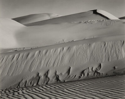 Edward Weston, 'Dunes, Oceano', 1936-printed in the late 1940s or early 1950s