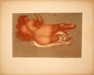 Aristide Maillol, 'Jeune Femme Couchee sur le dos, une Jambe Levee', 1948