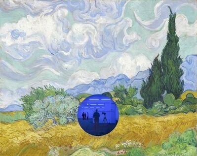 Jeff Koons, 'Gazing Ball (Van Gogh Wheatfield With  Cypresse)', 2017