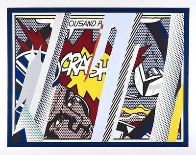 Roy Lichtenstein, 'Reflections  on Crash', 1990