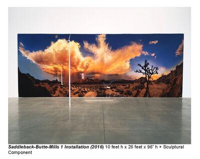 Jeremy Kidd, 'Saddleback-butte-Mills 1 instalation', 2016