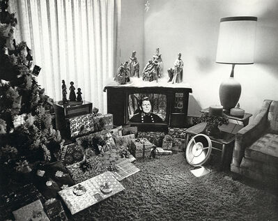Bill Owens, 'Reagan on TV', 1971