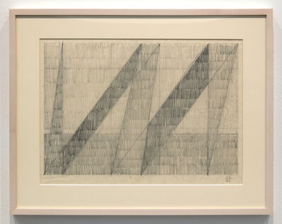 "Jack Tworkov, 'Study for ""ENS""', 1981"