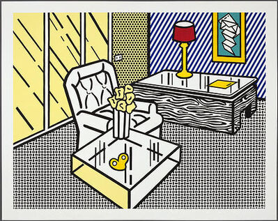 Roy Lichtenstein, 'The Den (published 19991) from the Interior Series', 1990