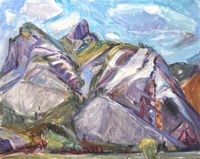 Jane Culp, 'Teton Pass Spiraling Mountains', 2017