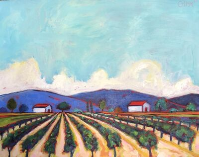 Tim Collom, 'Two Barn Vineyard', 2019