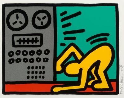 Keith Haring, 'Untitled, from Pop Shop III', 1989