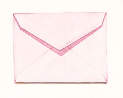 Margot Glass, 'Pink Envelope', 2016