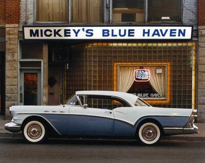 Bruce Wrighton, '1957 Buick Special Riviera Coupe, Mickey's Blue Haven, Johnson City, NY', ca. 1987