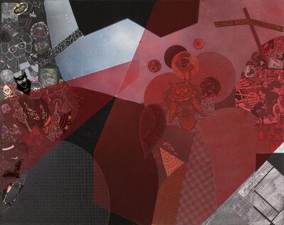 Ye Hongxing, 'Red Curtain No.1', 2019