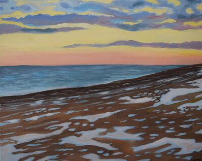 Laurel Burns, 'Beach with Snow', 2019