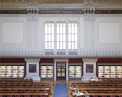 Candida Höfer, 'Biblioteca Nacional de España, Madrid V ', 2015