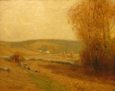 Bruce Crane, 'Autumn Dreams', ca. 1910