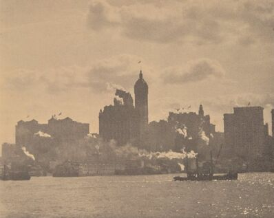 Alfred Stieglitz, 'Lower Manhattan', 1910