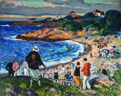 Gifford Beal, 'Garden Beach', 1925