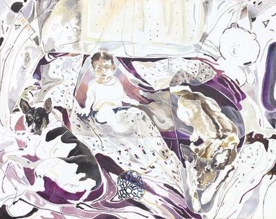 Chris HUEN Sin Kan, 'Balltsz, Joel and Muimui', 2018