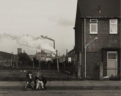 Chris Killip, 'Untitled (two girls on curb)', 1989