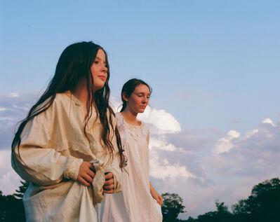Madeleine Morlet, 'Blue Violets (Appleton, Maine)', 2019