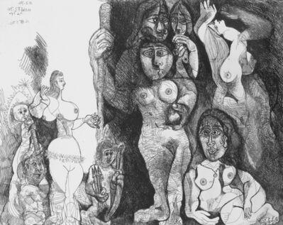 Pablo Picasso, 'Le théatre de Picasso: Eros et les femmes (Picasso's Theater: Eros and Women)', 1970