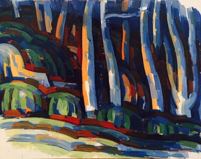 Wilbur Niewald, 'Penn Valley Bluffs', 1968