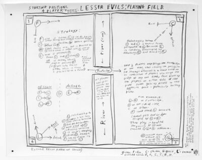 Abby Manock, 'Lesser Evils: Playing Field', 2010