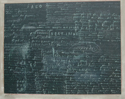Jumaldi Alfi, 'Postcard 005 The Blackboard', 2005