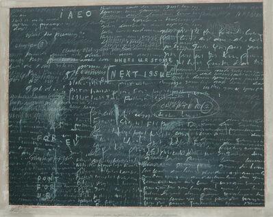 Jumaldi Alfi, 'Postcard005 The Blackboard', 2005