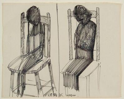Charles Blackman, 'Untitled (Seated Figures)', 1965