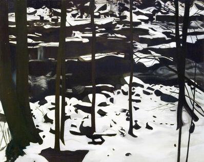 Ralph Wickiser, 'Through the Trees', 1977