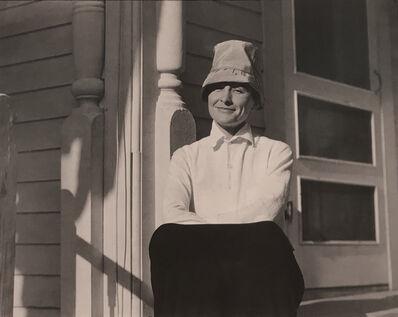 Alfred Stieglitz, 'Georgia O'Keeffe, lake George, NY', 1924