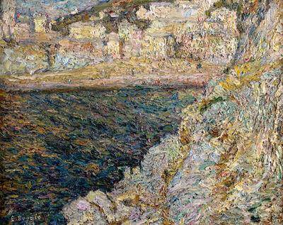 Emilio Boggio, 'Sunset in the Seine', 1969