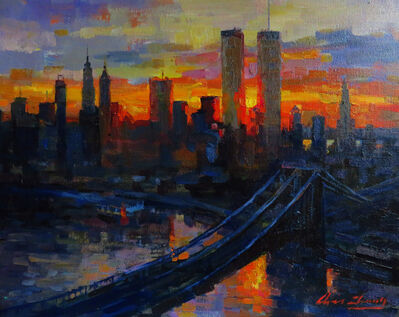 Christopher Zhang, 'Manhattan Sunset', 2019