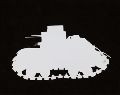 Gyorgy Kepes, 'Untitled (Tank silhouette)', 1942