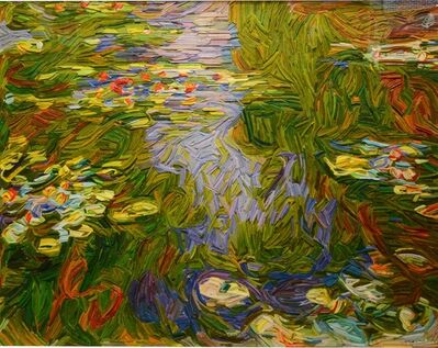 Kyu-Hak Lee, 'Monument: Monet Water Lillies'