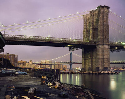 Brian Rose, 'Brooklyn Bridge', 1980