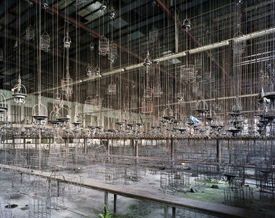 Yves Marchand & Romain Meffre, 'Locker Room, Hugo Mine, Gelsenkirchen, Germany', 2009