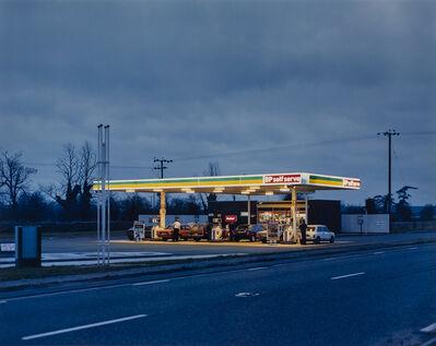 Paul Graham, 'BP Station at Dusk, Bedfordshire', 1981