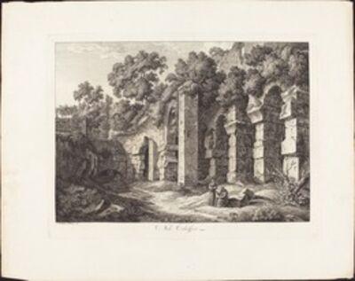 Johann Christian Reinhart, 'Nel Colosseo', 1793