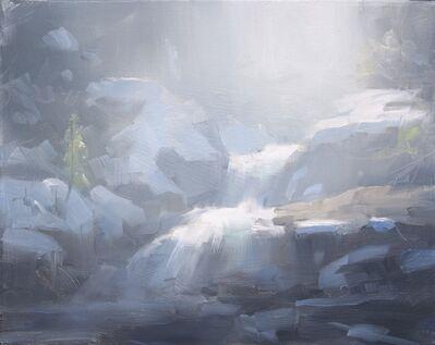 Dave Santillanes, 'Snow on Copeland Falls Study', 2017