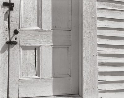 Edward Weston, 'Church Door, Hornitos', 1940