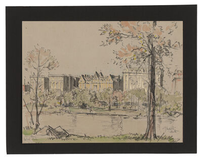 Jules Andre Smith, 'A View from Central Park Featuring the Dakota (1900)', 1915