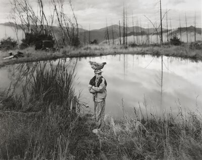 Jock Sturges, 'Mike with Chicken, Northern California', 1994